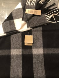 New Authentic Burberry 100% Cashmere Scarf.
