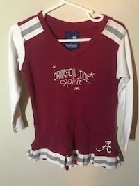red and white Hollister sweater Loxley