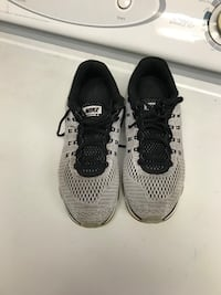 pair of gray-and-black Nike running shoes Albany, 12202