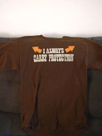 I Always Carry Protection T-SHIRT Size M