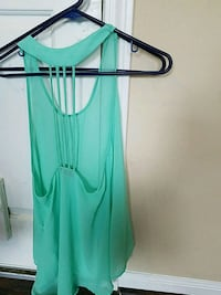 sheer blue top size small Tomball, 77377