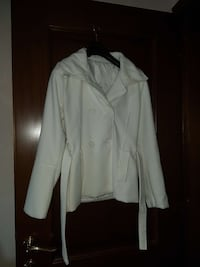 Cappotto bianco trench