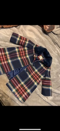 BabyGAP baby girl Plaid Coat  65 km