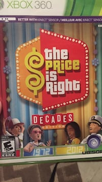 The Price is Right Xbox 360 game case
