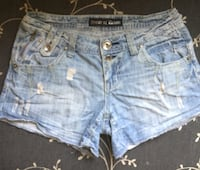 House of Denim shorts. Str. S Oslo, 0487