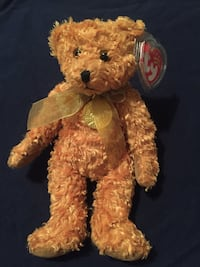"Ty Beanie Babies 2002 ""Teddy"" Gold Medallion 100th Anniversary Wichita, 67216"