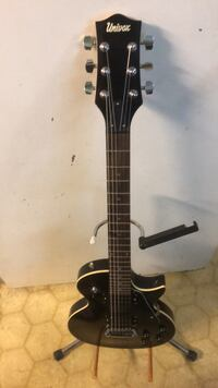 Univox Guitar with chromacast case. North Vancouver, V7N 1A1
