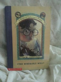 Lemony snicket-The Miserable Mill book