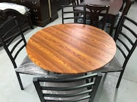 Brand new 5pc round dining set warehouse sale, limited quantities  多伦多, M1V 1E9