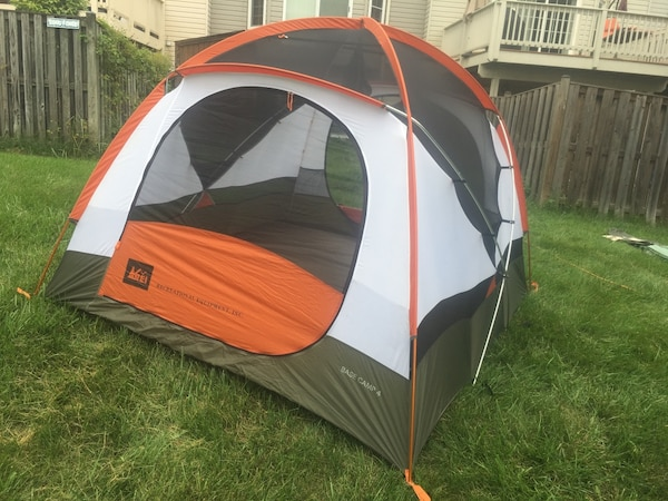 REI Base Camp 4 Tent