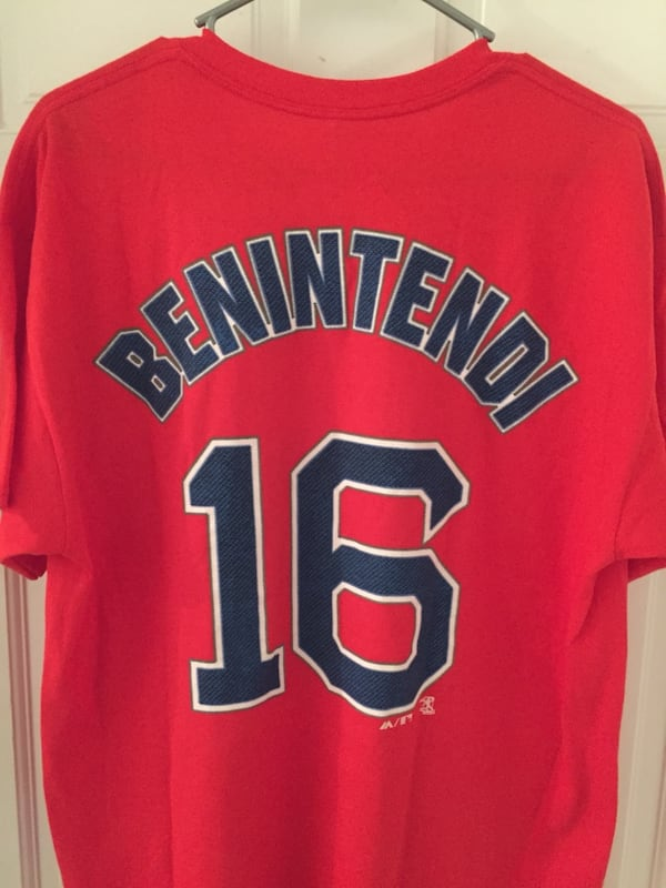 Boston Red Sox Andrew Bennintendi - Size Large T Shirt - New w/ Tags 1