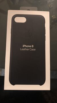 Brand new iPhone 8 leather case