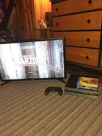 Awesome PS4 With Games & HD TV!!!