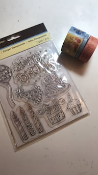 Clear stamps and tapes Richmond, V6Y