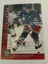 2001/02 BE A PLAYER MARK MESSIER FALL EXPO CARD  Pickering, L1V 3V7
