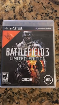 ps3 battlefield 3 limited edition Lakewood, 90715