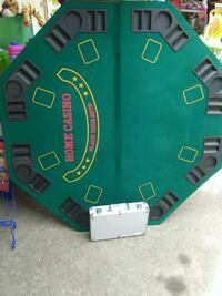 Poker table with poker chips Houston, 77041