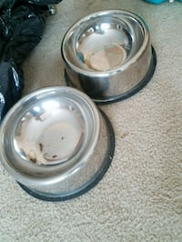 two stainless steel cooking pots Trenton, 08610