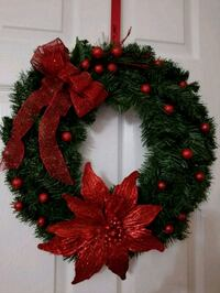 red and green Christmas wreath Oxon Hill