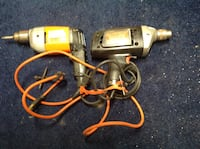 2 corded electric drills Hagerstown, 21740
