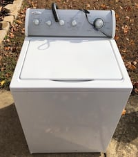 white top-load clothes washer 176 mi
