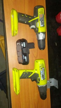 Ryobi two drills and. A battery Edmonton, T6W 1A8