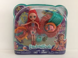 Enchantimals wave 2 cameo crab chela and Courtney doll with pets brand new toy