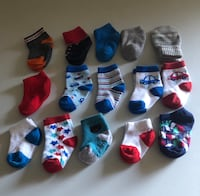 Baby boy socks size 0-6 months  Tulare, 93274