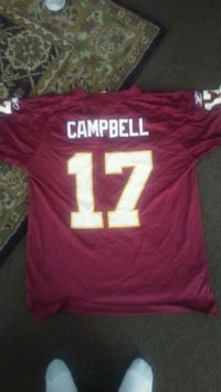Red skins jersey..  Fort Meade, 20755