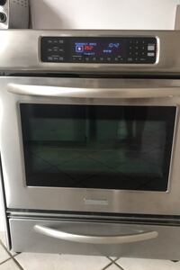 Kitchenaid slide in electric range