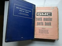 GMC Truck Master Parts Book 1968-1972