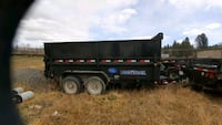7X14 DUMP TRAILER GREAT CONDITION Calgary
