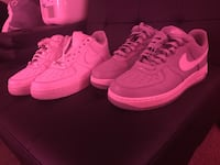 2 pairs of airforce forces size 9