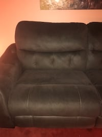 brown leather recliner sofa chair Washington