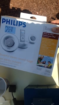 Philips speaker set for iPhone iPad iPod fits them all Chowchilla, 93610
