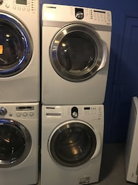 Samsung front load washer and dryer set in excellent condition  Baltimore, 21223
