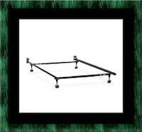 Metal frame rails full twin Queen $40 King $70 Largo, 20774
