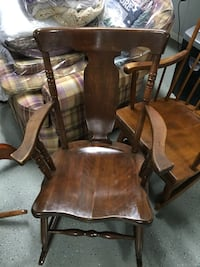 Refurbished rocking chair