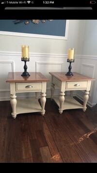 Coffee table and two side table