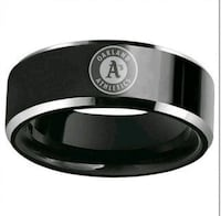 New rings A's $8 sizes available 2345 mi