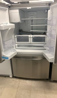 Frigidaire French doors stainless steel refrigerator