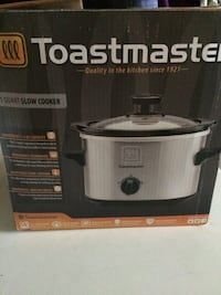 grey Toastmaster slow cooker box Hagerstown, 21740