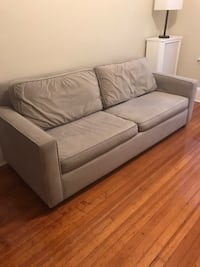 "West Elm Henry Sofa 86"" Grey Washington, 20009"