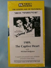 The Captive Heart vhs