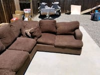 Large brown couch  Bakersfield