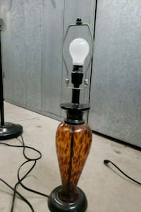 brown and black table lamp Moreno Valley, 92553
