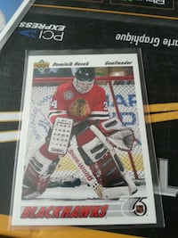 Blackhawks Dominik Hasek trading card 3771 km