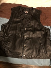Leather Harley vest men's  Gainesville, 20155