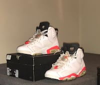 Nike air Jordan infrared white 6s  Somerset, 08873
