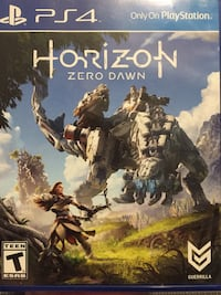 Ps4 horizon zero dawn game New Port Richey, 34653